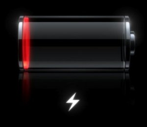 low battery
